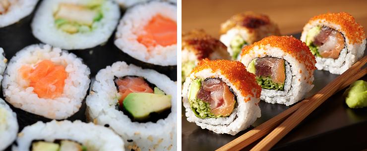 cauliflour-sushi