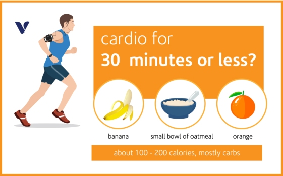 cardio for 30 mins or less