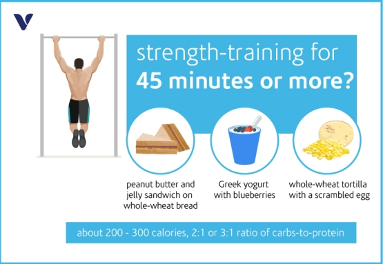 strength training for 45 min or more